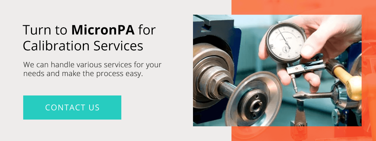 Turn to MicronPA for Calibration Services